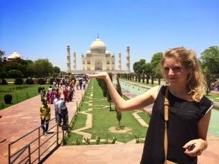 Emilie et son stage d'Auntonomisation des Femmes du Rajasthan